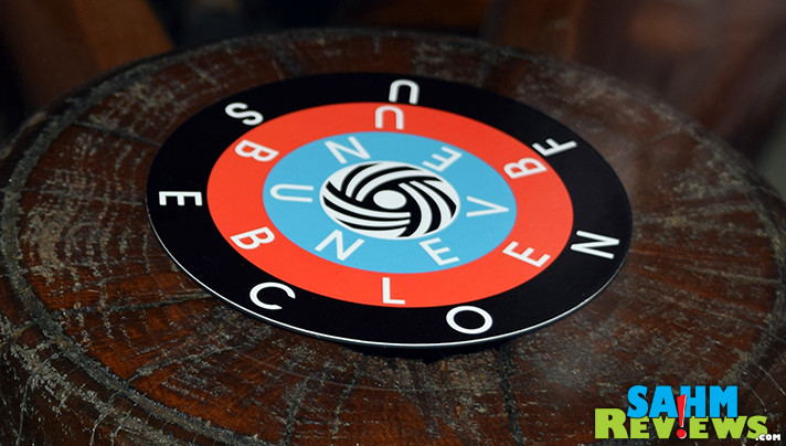 This week's Thrift Treasure had up spinning in circles. Check out ThinkFun's WordARound and see if you can make heads or tails of it! - SahmReviews.com