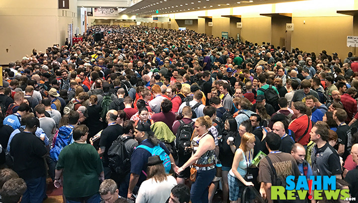 Retailers at Gen Con have more than just games. There are bargains galore at the dice booths. You just have to know where to look! - SahmReviews.com