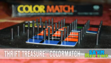 Thrift Treasure: Rubik's Colormatch Game