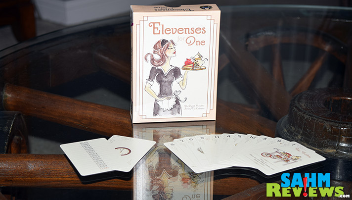 I've found a matching set of games that I must now collect. This is the eleventh in the E•G•G Series - Elevenses for One by Eagle-Gryphon Games. - SahmReviews.com