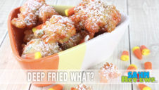 Breakfast or Dessert? Fried Candy Corn Recipe