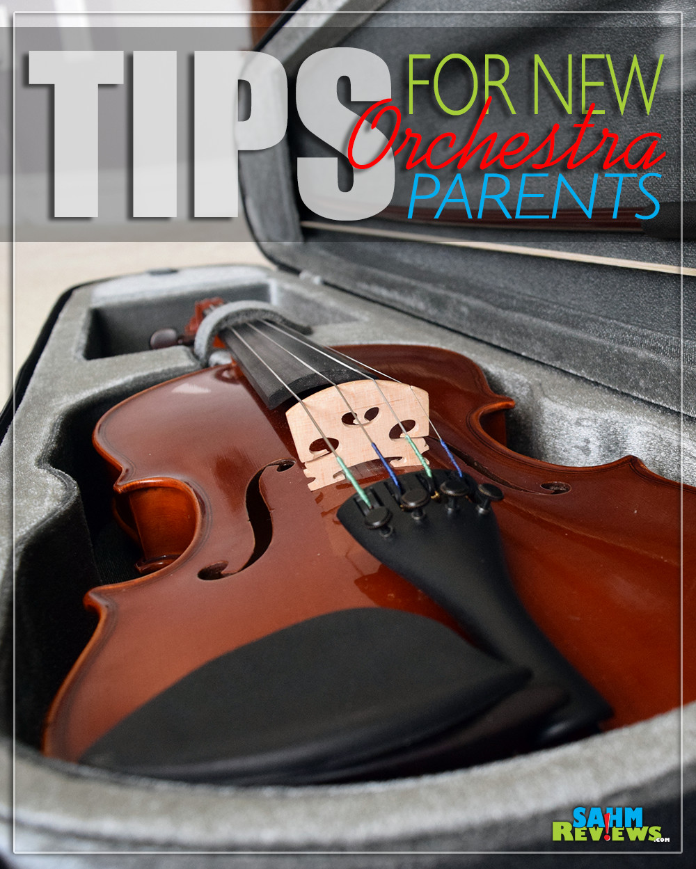 Have a beginner orchestra student? Tips for new orchestra parents. - SahmReviews.com
