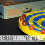 It turns out Stadium Checkers has been around longer than I have! How we missed out until now is a miracle. Now it's our latest Thrift Treasure! - SahmReviews.com