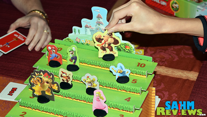 While we thoroughly enjoyed playing Super Mario Level Up! by USAopoly, we felt something needed upgrading. Too bad we didn't think it through first! - SahmReviews.com