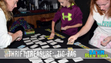 Thrift Treasure: Zig-Zag Card Game