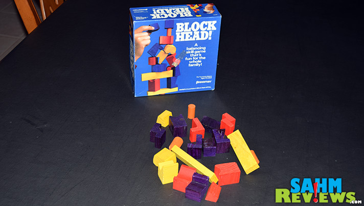 Block Head! resembles a number of today's games, but has actually been around for decades. How does it stand up to current titles? - SahmReviews.com