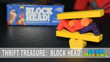 Thrift Treasure: Block Head! Game
