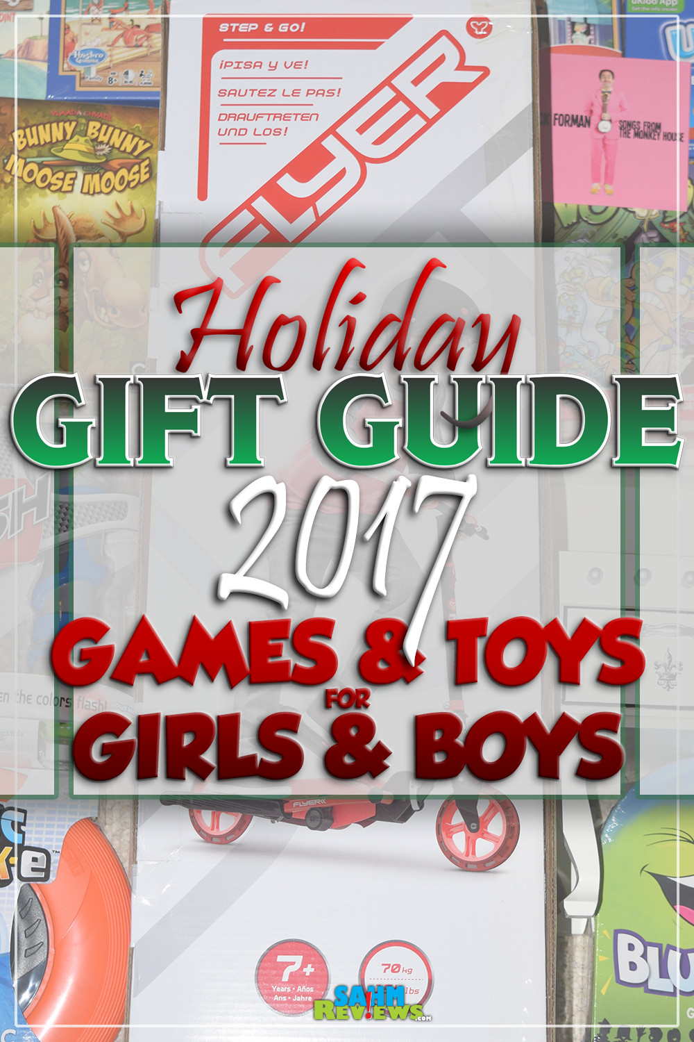 Need gift ideas for the good girls and boys on your shopping list? This Gift Guide inspires play and encourages kids' positive energy! - SahmReviews.com