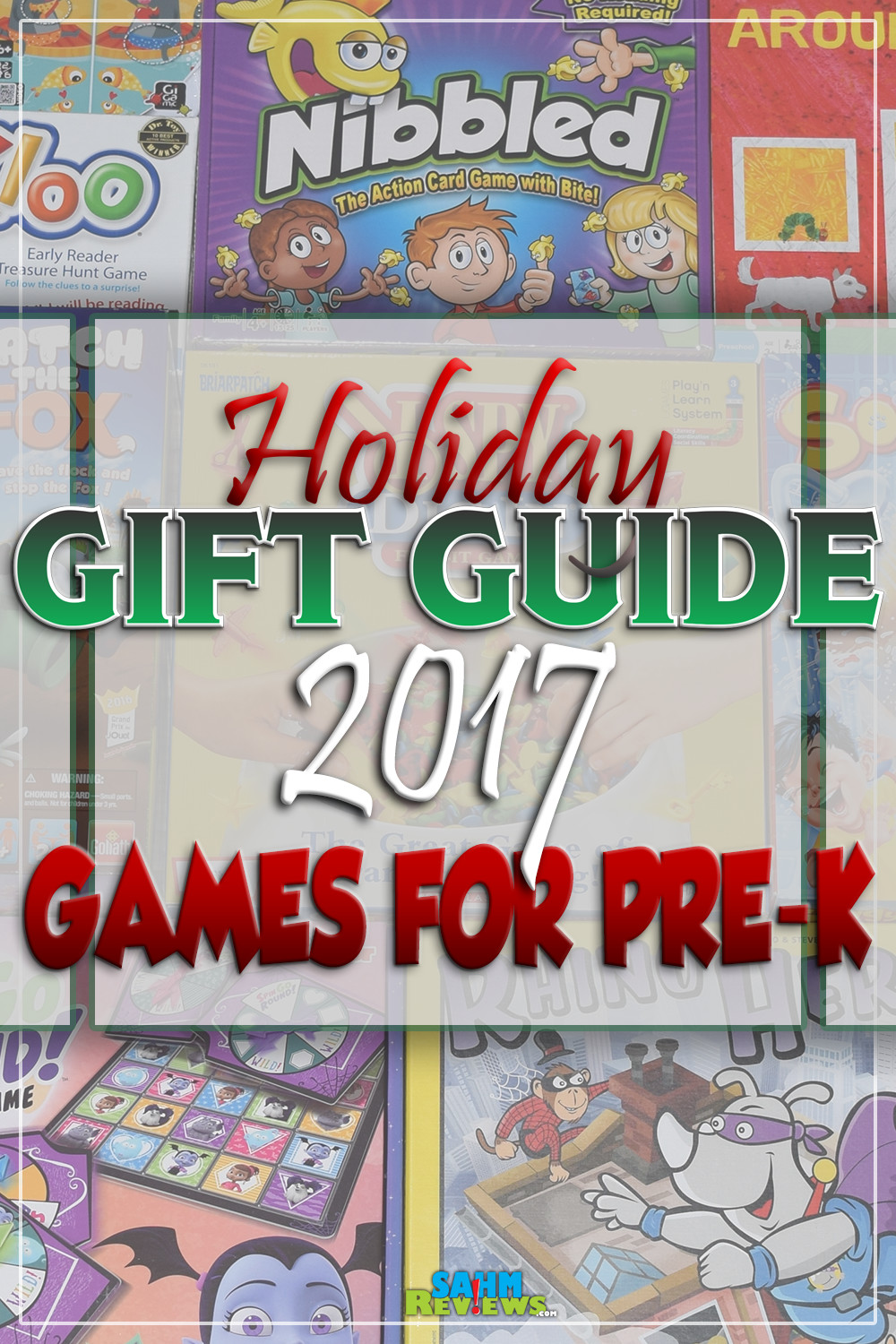 You're never to young to start playing board games. These ten gift ideas are perfect for the very young gamer in your family! - SahmReviews.com