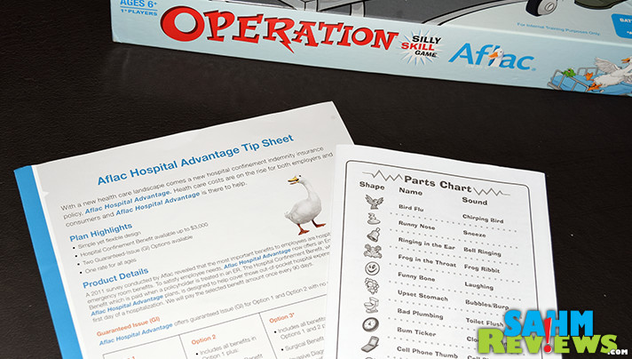 Operation Aflac was only available to employees of the Fortune 500 company. And we found one at Goodwill! What should we do with it? - SahmReviews.com