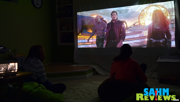 Looking to step up your entertainment game? BenQ digital projector is an affordable option for your home theater. - SahmReviews.com