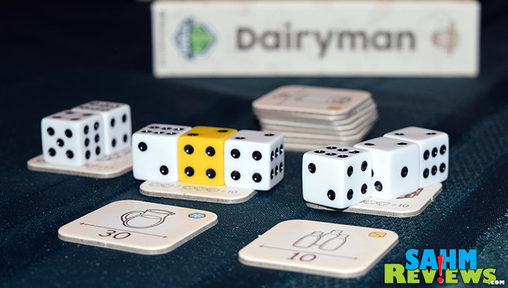 You might not be able to have milk delivered to your home any more, but you can still pretend in Tasty Minstrel Games' new Dairyman dice game! - SahmReviews.com