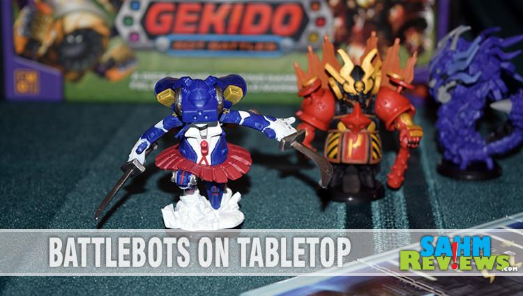 Gekido: Bot Battles Game Overview