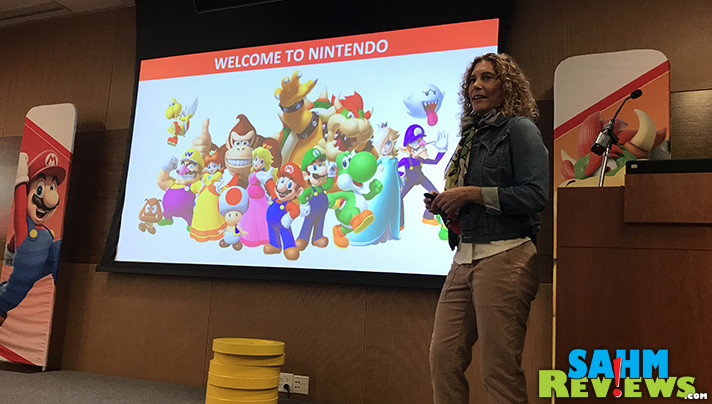 We went behind-the-scenes with Nintendo of America to learn about hot holiday products, some history of Nintendo and chat with some Nintendo experts! - SahmReviews.com