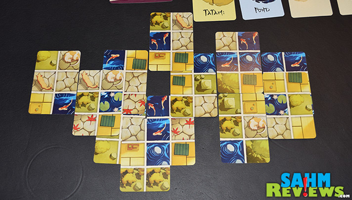 Samurai Gardener is another small-box card game we've enjoyed, but were surprised when we discovered it was by a designer whose games we had already played! - SahmReviews.com