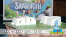 Santorini Board Game Overview