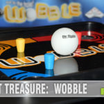 Wobble by Identity Games is still available brand new, but our copy was found at our local Goodwill. See if you have the steady hand to be successful! - SahmReviews.com