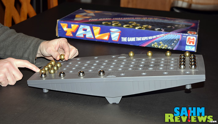 Yali may feel like Chinese Checkers at first, but you'll soon realize that careful balance is what is required to win. It's this week's thrift treasure! - SahmReviews.com