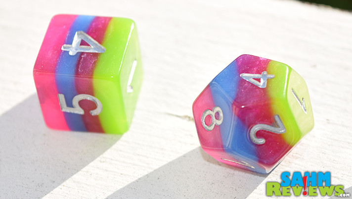 While we love finding deals on dice at Gen Con, we recently discovered an eBay supplier that has designs not seen elsewhere. And they're cheaper than Chessex! - SahmReviews.com