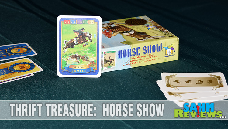 Thrift Treasure: Horse Show Card Game