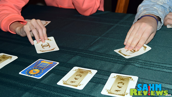 If I told you there was a card game for every possible theme, would you believe me? Horse Show by Gamewright is one of the themes you would never guess. - SahmReviews.com