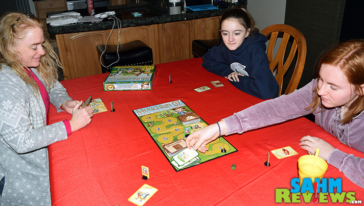 Whether you've played the original Munchkin or not, Munchkin Oz: Guest Artist Edition is one you'll want to play with any Wizard of Oz fan. You can even fight the witches! - SahmReviews.com
