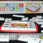 It's a different take on Scrabble and limits you to 4-letter words. Check out this copy of Quad*doku that we found at our local Goodwill! - SahmReviews.com