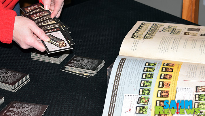 Put your skills of deduction to work to discover who the witches are in Salem board game from Passport Game Studios. - SahmReviews.com