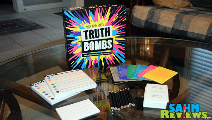 Find the truth about who knows you best in Dan & Phil's Truth Bombs party game from Big Potato Games. - SahmReviews.com
