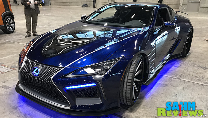 A trend at the 2018 Chicago Auto Show was movies as attendees saw vehicles from The Black Panther, A Wrinkle in Time, The Last Jedi, Ant Man and the Wasp as well as Steve McQueen's Bullitt. - SahmReviews.com