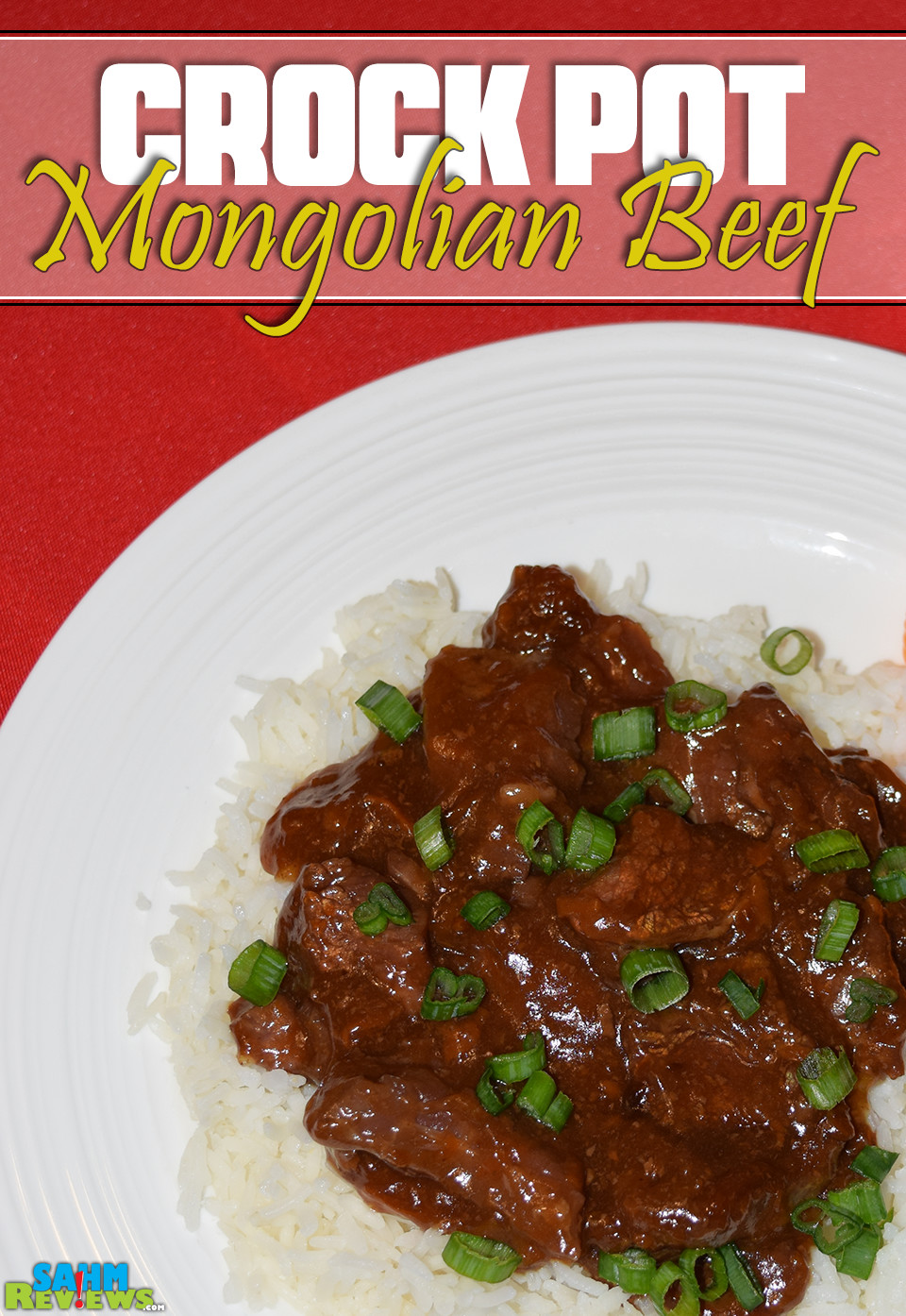 Looking for a simple recipe the kids will enjoy and can make for the whole family? Try out this slow cooker Mongolian Beef recipe the next time the kids are looking for something to do! - SahmReviews.com