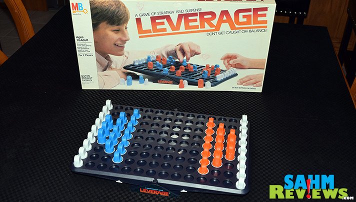 We almost decided not to purchase Milton Bradley's Leverage because we thought it was too similar to another game in our collection. Turns out it was a much better game! - SahmReviews.com