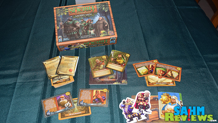 Lie, bribe and smuggle contraband in Sheriff of Nottingham from Arcane Wonders. Add variety with the Merry Men Expansion. - SahmReviews.com