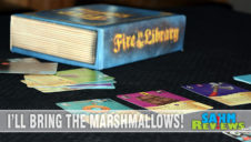 First Look: Fire in the Library Game
