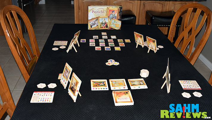 You don't need artistic skill to enjoy a round of Eagle-Gryphon Games' Petite Pastiche. Just an appreciation for the arts! Find out what it's all about on SahmReviews.com!
