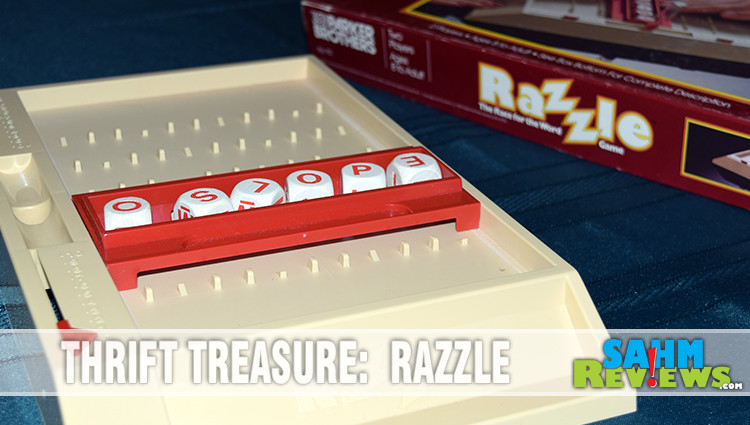 Thrift Treasure: Razzle Word Game