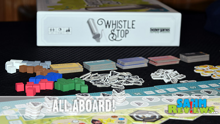 Whistle Stop Train Game Overview