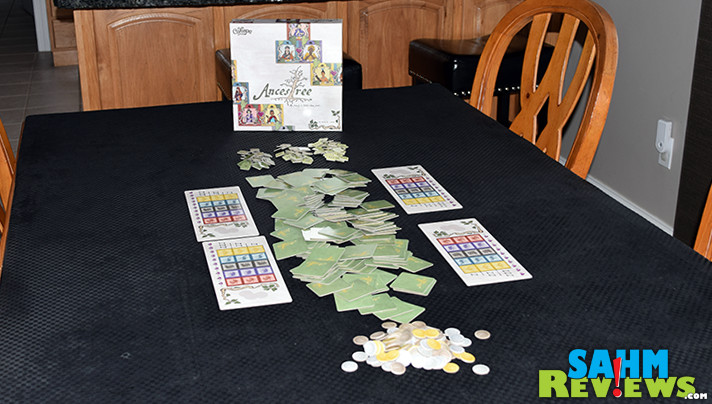 If you have an interest in family tree research then Ancestree by Calliope Games might be perfect for your next game night! - SahmReviews.com