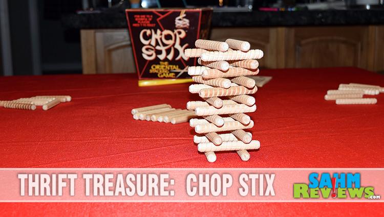 Thrift Treasure: Chop Stix Stacking Game