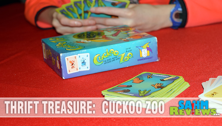 Thrift Treasure: Cuckoo Zoo Card Game