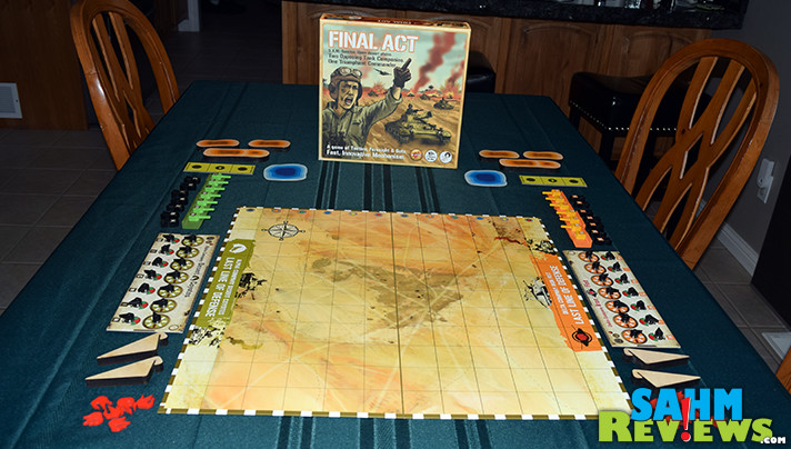 If you're in the market for a game that introduces your children to tactics and forward-thinking, then Final Act by Tyto Games might just be the answer. If you're ready to be a Commander, check it out at SahmReviews.com!