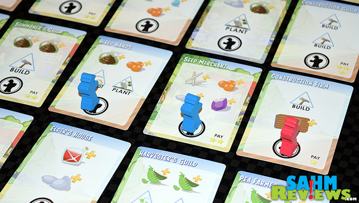 Can you plow, build, plant and grow a crop in under an hour? You can in Tasty Minstrel Games' brand new Harvest game. Find out why it is now in our travel bag! - SahmReviews.com