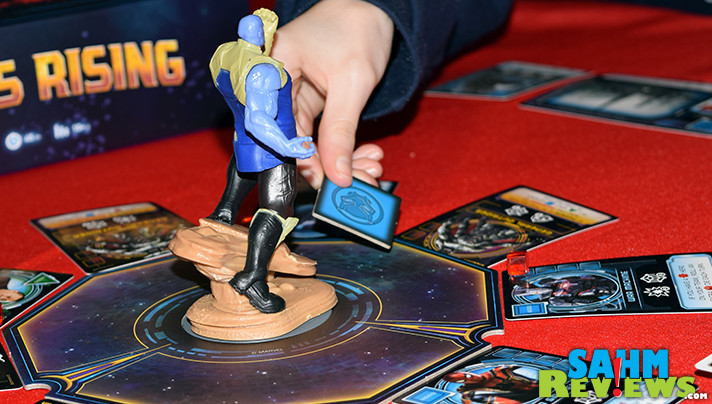The fate of the universe is in your hands in Marvel Avengers Infinity War Thanos Rising board game. - SahmReviews.com