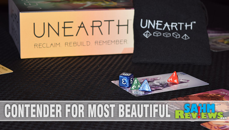 Unearth Dice Placement Game Overview
