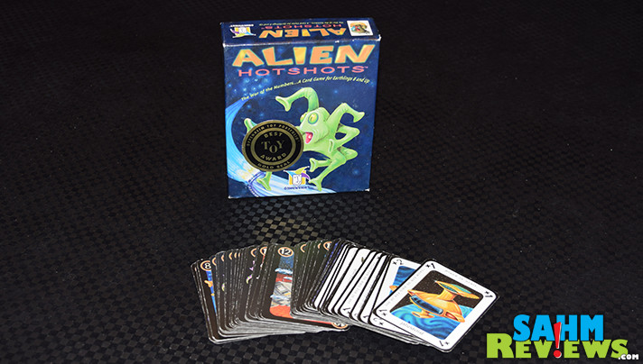 We've always loved the game of War, but this week's Thrift Treasure just might be our favorite version yet! Check out Gamewright's Alien Hotshots on SahmReviews.com!