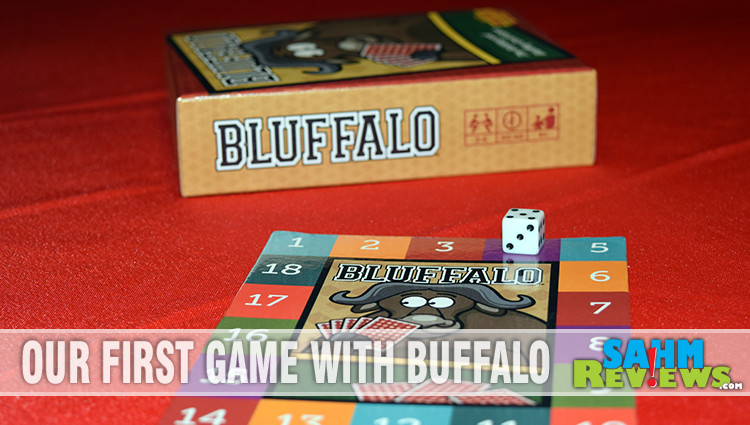 Bluffalo Bidding and Bluffing Card Game