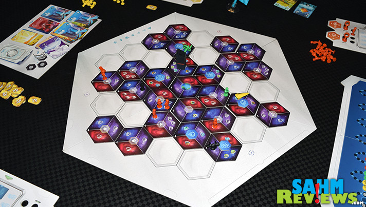 You may have to wait a little extra to get this game shipped from Europe, but HOPE by Morning is well worth it! If you love cooperative games, this one should be your space-based selection! - SahmReviews.com
