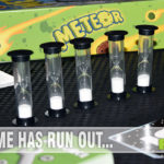 Lasting only 5 minutes with an inexpensive price tag, Meteor cooperative game from Mayday Games is an affordable addition to your game shelf. - SahmReviews.com