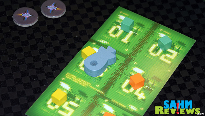 The second entry into IDW Games' line of classic Atari games turned into board games! Missile Command supports up to six and no quarters needed! - SahmReviews.com