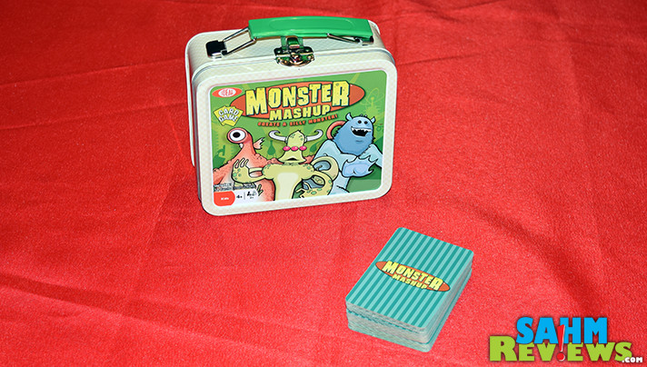 Not a complex game, but one that would certainly be enjoyed by your kids. Monster Mashup by Ideal / Fundex is our latest Thrift Treasure find! - SahmReviews.com